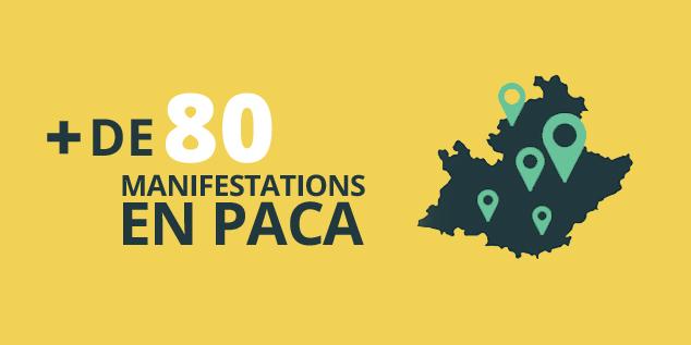Découvrez plus de 80 manifestations en Paca