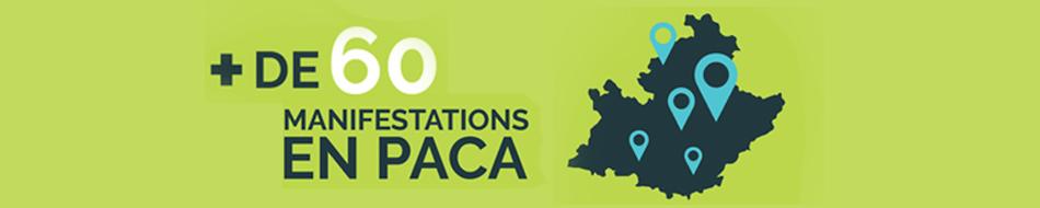 Découvrez plus de 60 manifestations en Paca